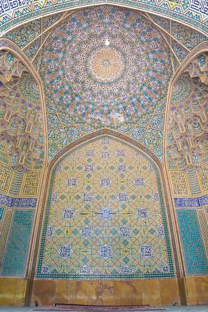 isfahan: Madrasa-ye-Chahar Bagh, in Isfahan, Iran.  Theological college built between 1704 and 1714.