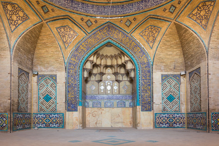 fled: Mosque Al-Hakim, located near the bazaar of Isfahan, in Iran, was built in 1654 during the reign of Shah Abbas II (1648-66) by Doctor (Hakim) Daud, who fled from Isfahan to India. Editorial