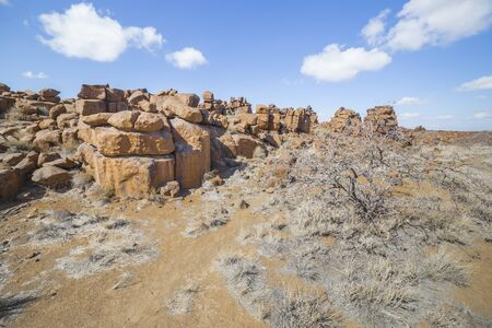 giants: The Giants Playground, a bizarre natural rock garden near Keetmashoop, Namibia