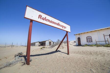 luderitz: Abandoned building in the ghost town of Kolmanskop, near Luderitz, Namibia