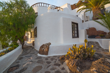 LANZAROTE, SPAIN - NOVEMBER 27, 2016: LagOmar House Museum in Lanzarote, Canary Islands, in Spain