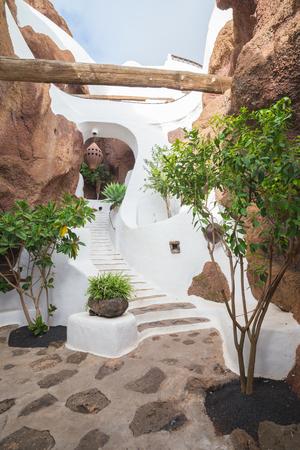 lanzarote: LANZAROTE, SPAIN - NOVEMBER 27, 2016: LagOmar House Museum in Lanzarote, Canary Islands, in Spain