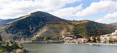 Views of river Douro in Pinhao, Douro Valley, Portugal