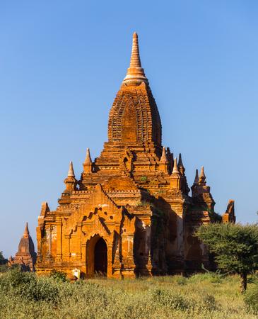 Tham Bula temple in Bagan,  in Myanmar Banco de Imagens