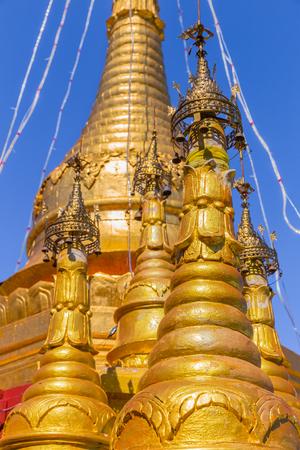 Mount Popa, at Bagan, in Myanmar
