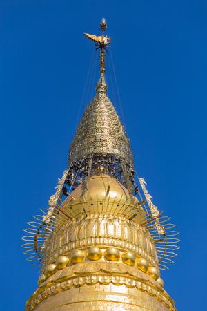 Soon U Ponya Shin Pagoda, Sagaing, near Mandalay, in Myanmar