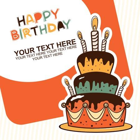 tortas de cumpleaños: feliz cumpleaños con torta
