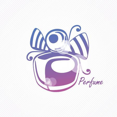 perfume atomizer: Perfume bottle with tape