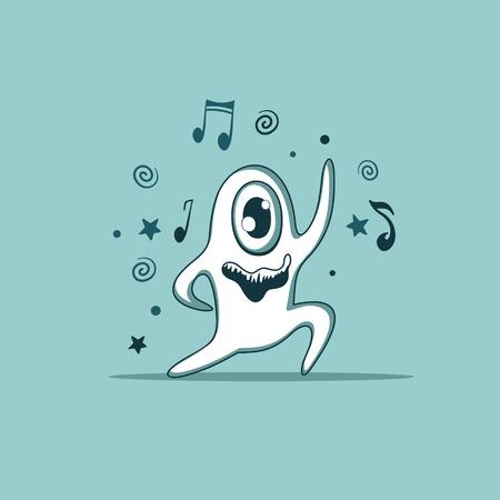 재미 괴물 춤
