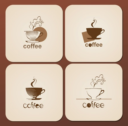 cafe sign: Cafe sign, coffee cup