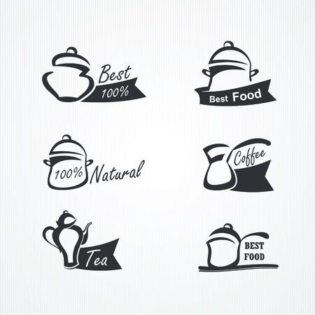 collection of cooking symbols Illustration
