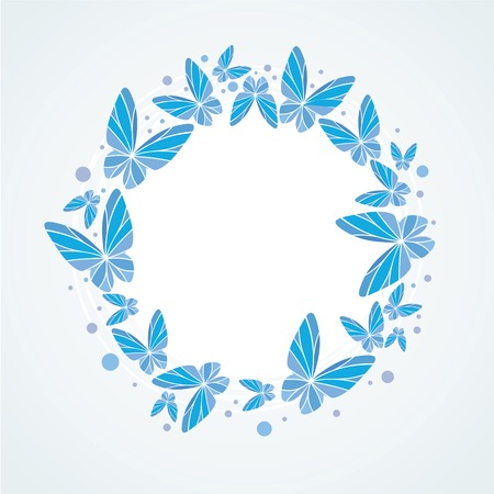 Butterflies Background Design