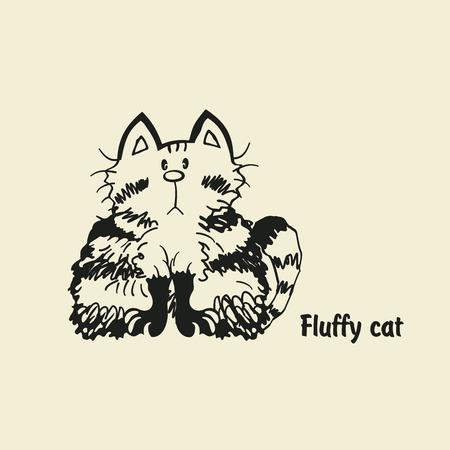 fluffy: fluffy cat