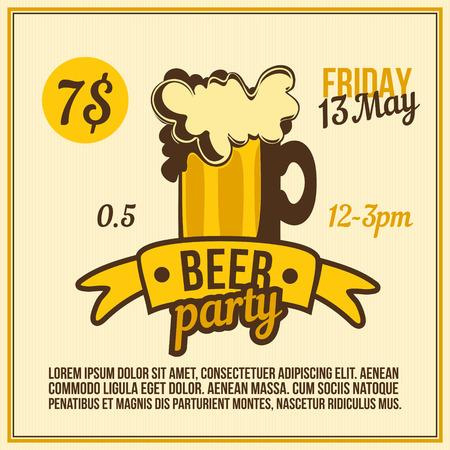 Drink Bar Poster Ilustrace
