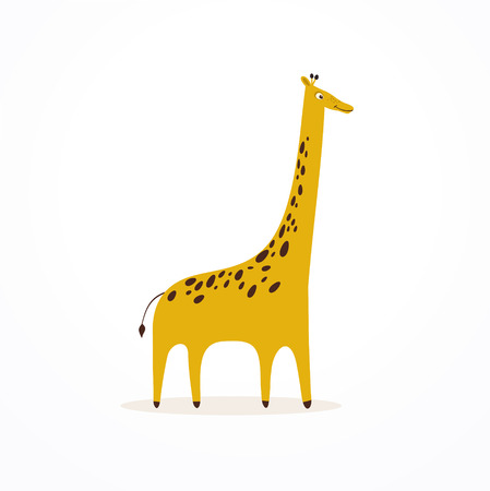 Cute giraffe Reklamní fotografie - 55964467
