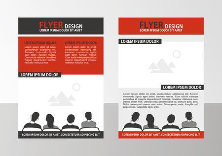 Vector Brochure Template. Flyer Layout.