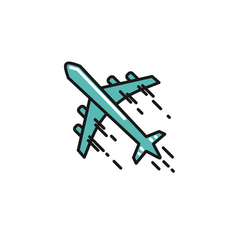 line airplane Icon