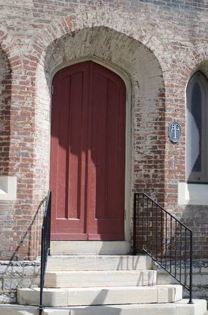 arcuate: Porta ad arco Archivio Fotografico