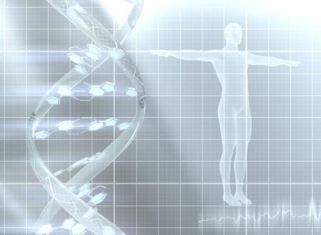genetica: Decodifica del genoma Archivio Fotografico