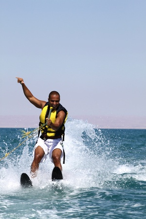 extreme sport: water sports Stock Photo