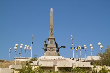 rumania: monument rumania Stock Photo