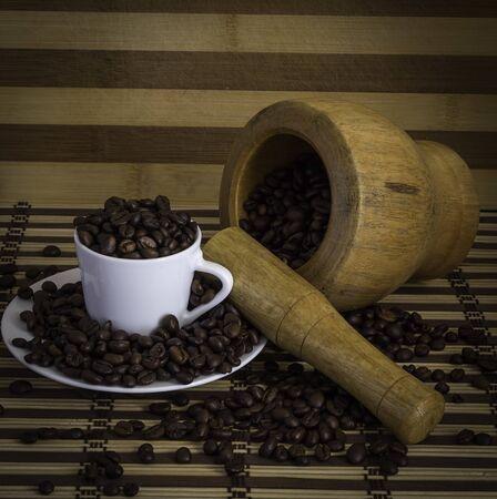 coffee grounds: coffee grounds