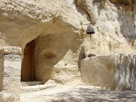 chappel: Small cave church in southern Crete, Greece