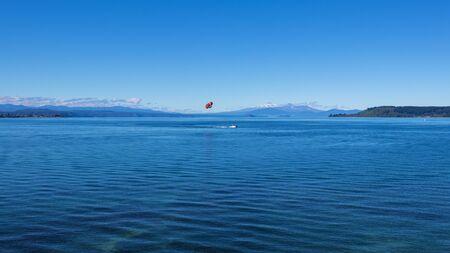 Lake Taupo, North Island, New Zealand Stock Photo