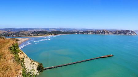 Tolaga Bay wharf, East Cape, New Zealand