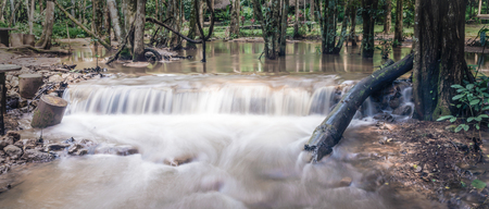 Landscape waterfall namtok pacharogn national park, Tak Thailand.
