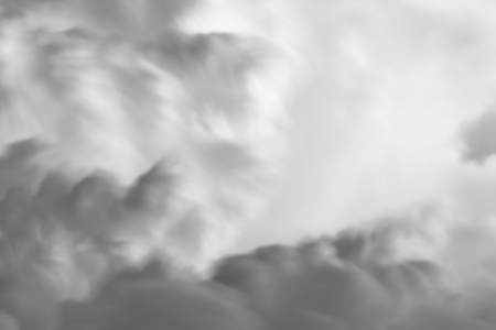 Abstract black and white clouds and sky for texture background.