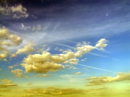 vapour: Surreal cloudscape