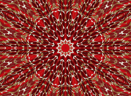 floral patterned christmas time abstract background photo