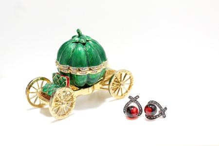 Pumpkin car,jewelry box