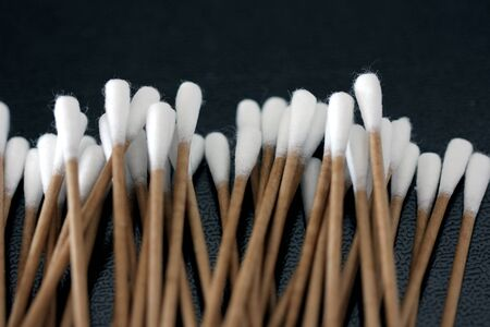 cotton swab: Cotton swab Stock Photo