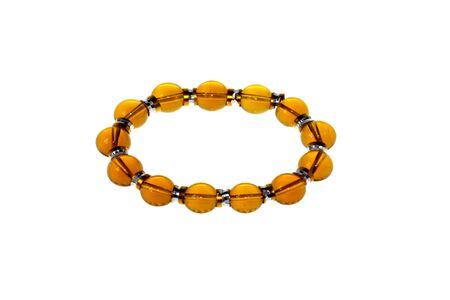 amber bracelet,jade Stock Photo