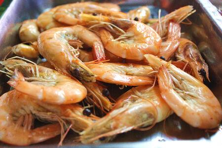 Shrimp, food