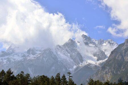 jade: Scenery at Jade Dragon snow mountain