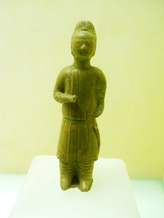 time's: Indochine bartender figurines of the Tang dynasty 618-907 handed down from ancient times.