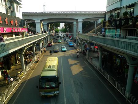 wuhan: Wuhan Street Editorial