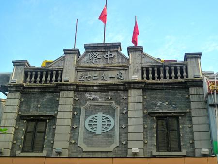 wuhan: ancient building, Wuhan hubu lane