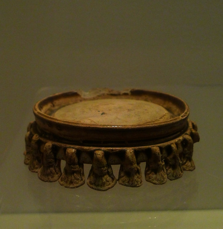 inkstone: porcelain inkstone and southern and Northern dynasties ad 420-589