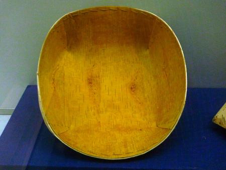 birchbark: birch-bark Bowl Editorial