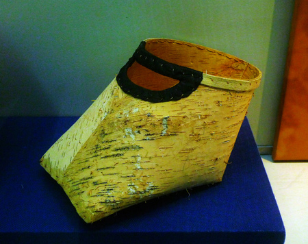 birch bark: Birch bark dustbin Editorial