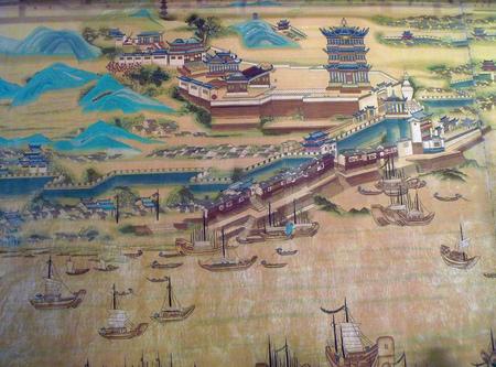 murals: Yangtze River murals