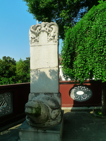 wuhan: Qingchuan Pavilion in Wuhan City, Hubei Province, Tablet Editorial