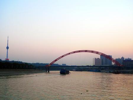 wuhan: HANJIANG, Wuhan City night