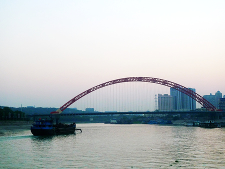 wuhan: HANJIANG, Wuhan City night
