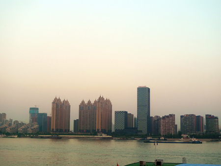 wuhan: Wuhan City along the Yangtze River Editorial