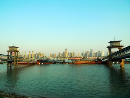 wuhan: Marshland in Wuhan Terminal